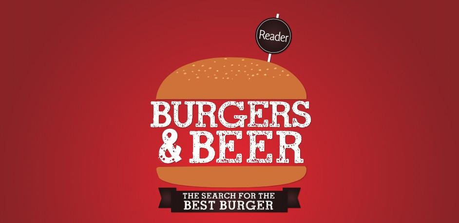 Burger and beer logo