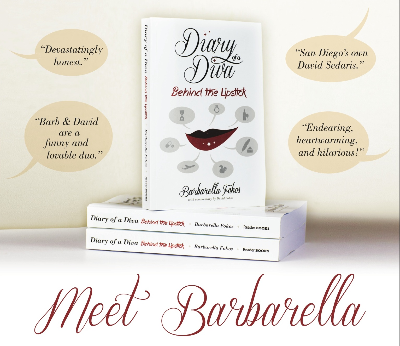 Can't make the party but still want a signed copy of the book? Go to  sdreader.com/diva.